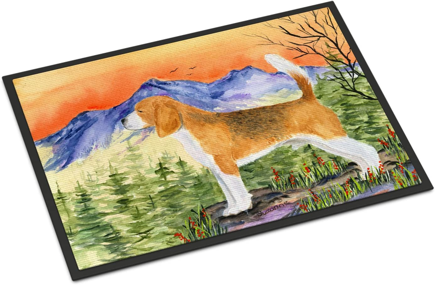 Caroline s Treasures SS8615JMAT Beagle Indoor or Outdoor Mat 24×36 Doormat, 24H X 36W, Multicolor