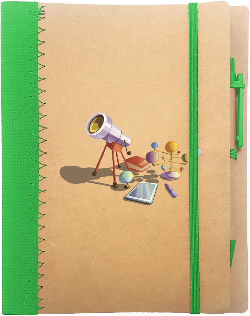 Arte# Arancio My Custom Style Notebook quadernoA5+Penna#Scuola