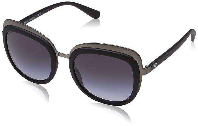 Emporio Armani 0ea2058 30108g 53 Gafas de sol, Gunmetal ...