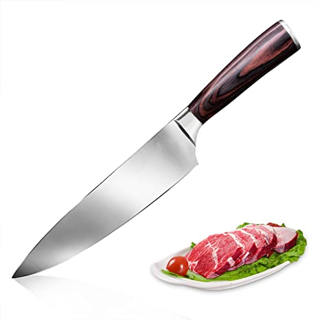 chef knife yotece 8 inch professional kitchen knife japanese high carbon stainless steel knife with high - Best Kitchen Knife