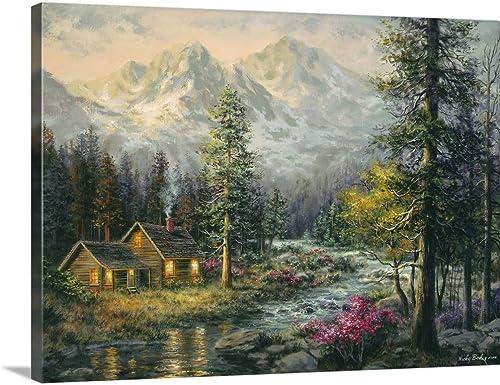 Camper's Cabin Canvas Wall Art Print