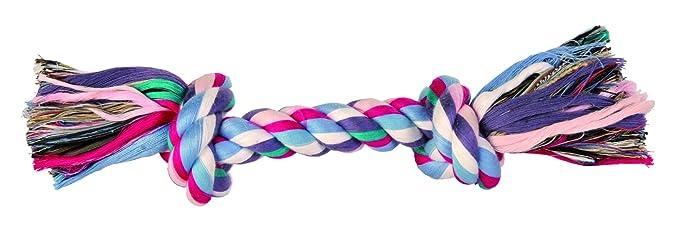 Trixie - corde coton 26 cm 125 g multicolore