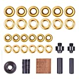 "Grommet Kit, NEU MASTER 3/8"" and 1/2"" Solid Brass"