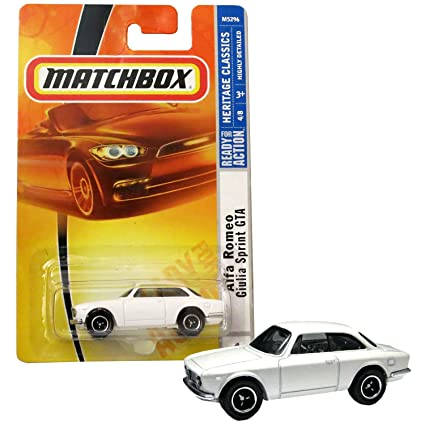Amazon.com: Matchbox Alfa Romeo Sprint GTA: Toys & Games