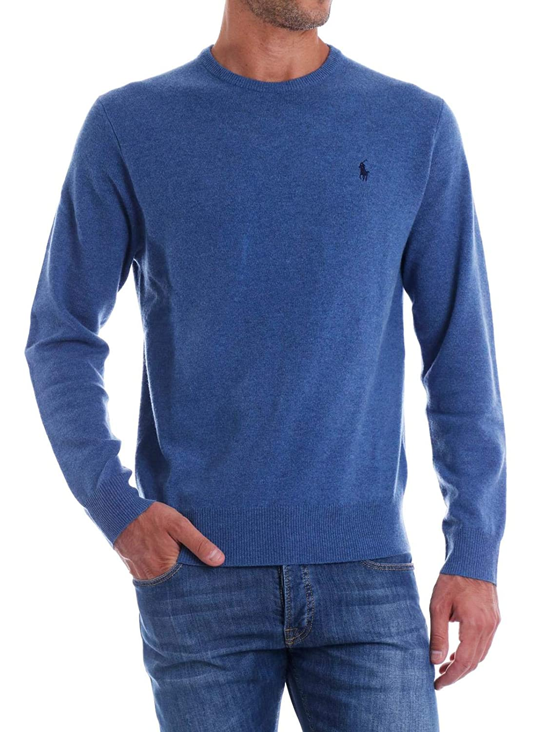Polo Ralph Lauren LS cn PP-Long Sleeve-Sweater XXL: Amazon.es ...