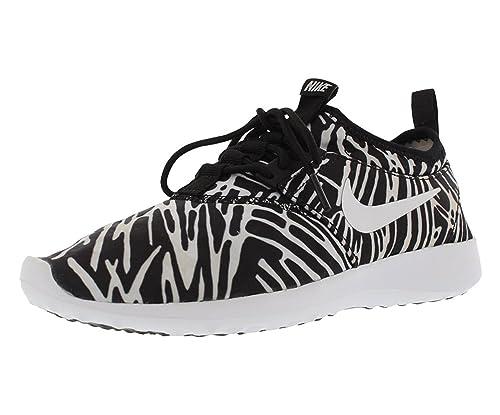 uk availability c9088 81228 Nike Wmns Juvenate Print, Zapatillas de Deporte para Mujer, Blanco (Black White),  42 1 2 EU  Amazon.es  Zapatos y complementos