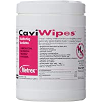 "CaviWipes Disinfecting Towelettes 6""x6.75"", 220 counts"