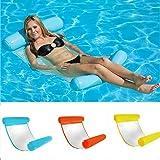 Cozywind Wasser Hängematte Schwimmer Liege Klappbare Pool Hängematte Wasser schwimmende Bett