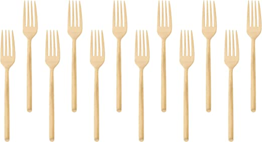 Amazon.com: Milano Collection - Tenedor para ensalada (acero ...
