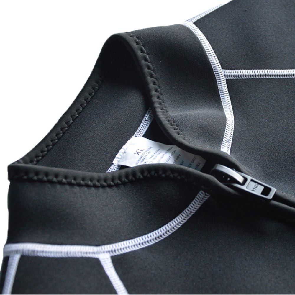 Layatone 3mm Wetsuit Vest Men Women Diving Vest Top Scuba Vest Canoeing Sauna Suit Vest Neoprene Top Sleeveless Wet Suit Adults