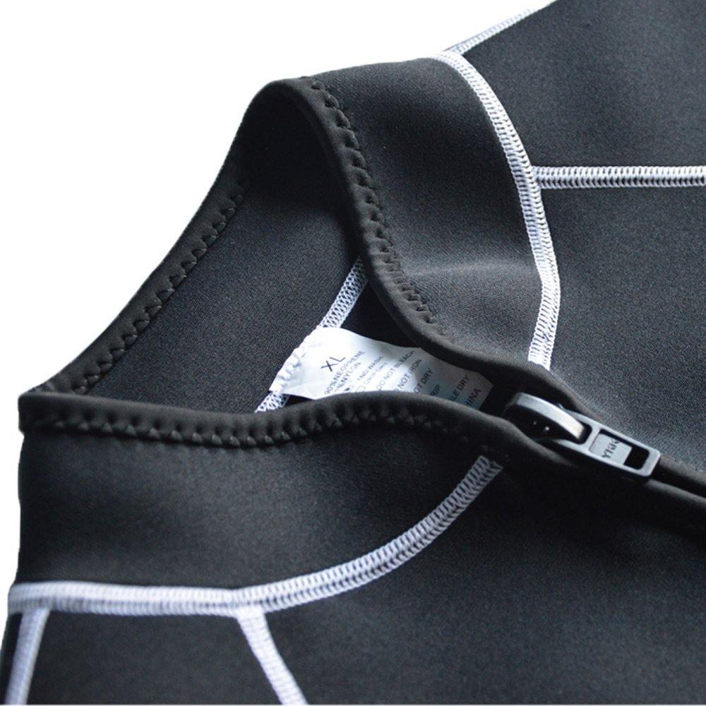 Layatone Wetsuit Top Men Women Premium 2mm//3mm Neoprene Diving Suit Vest Sleeveless Canoeing Surfing Snorkeling Scuba Diving Fishing Running Kayaking Top Vest Zipper Men Women Wet Suits Vest