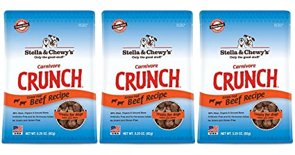 Amazoncom Stella Chewys Carnivore Crunch Beef Freeze Dried