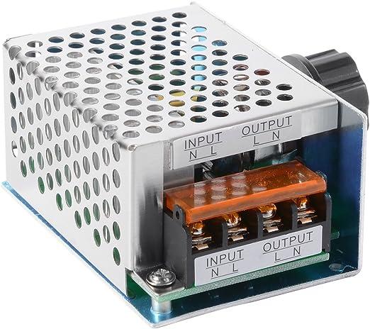 ARCELI AC 220V 2000W Gradateur de thyristor de Haute Puissance R/égulateur de Tension /électronique pour Le contr/ôle de la temp/érature Nouveau Produit