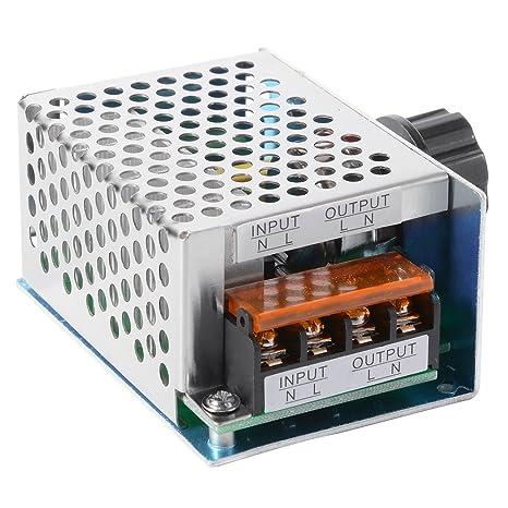 4000W AC 220V Hohe Leistung SCR Elektronische Spannungsregler Governor Dimmer Thermostat Drehzahlregler