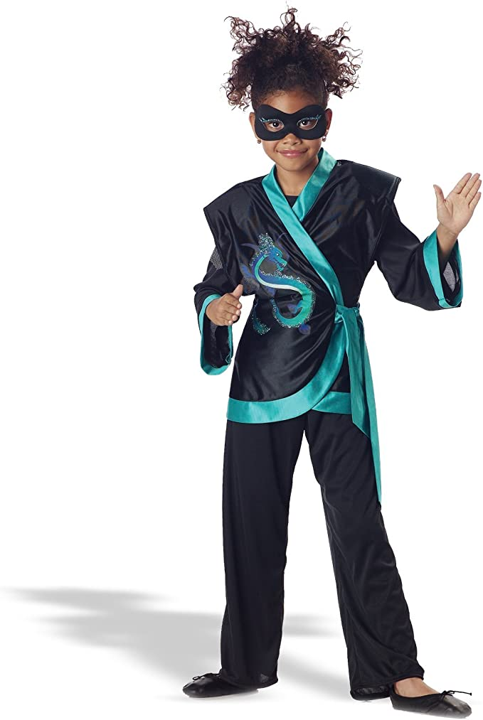 Jewel Dragon Ninja Child Costume