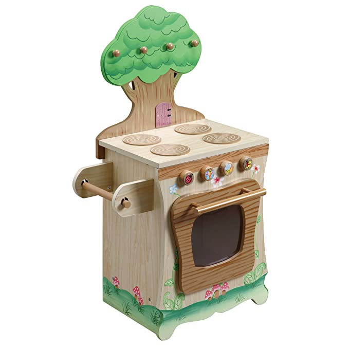 Teamson Kids - Enchanted Forest Wooden Play Kitchen - Stove