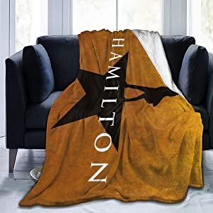 "Ha-mi-ltoN Ultra-Soft Micro Fleece Blanket Home Decor Warm Anti-Pilling Flannel Throw Blanket for Couch Bed Sofa,80"""" x60"