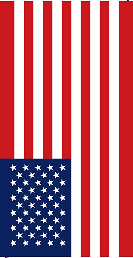 Toalla de playa de la bandera americana