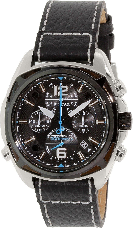 ブローバ Bulova Men's 98B226 Precisionist Analog Display Japanese Quartz Black Watch [並行輸入品] B00XUGMIRO