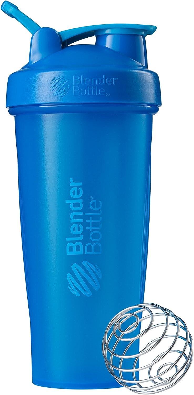 Blender Bottle Classic Loop Top Shaker Bottle, Cyan/Cyan