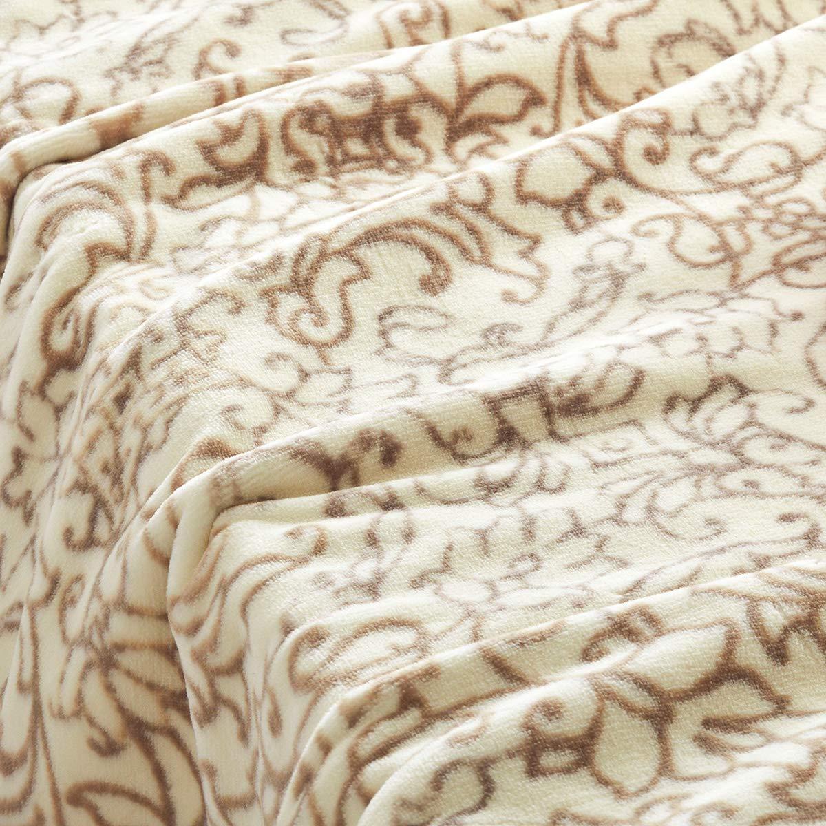 西川リビング 綿毛布 オーガニックコットン もうふ 毛布 ウォッシャブル シングル 日本製 49577 ベージュ[30] シングル B07T2V4X7M ベージュ[30] シングル