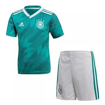 09182081b7c adidas D04268 Children s German National Team Football Away Mini Football  Kit