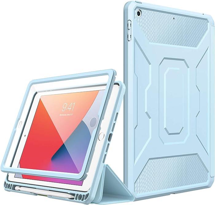 MoKo Case Fit New iPad 8th Gen 2020 & 7th Gen 2019 / iPad 10.2