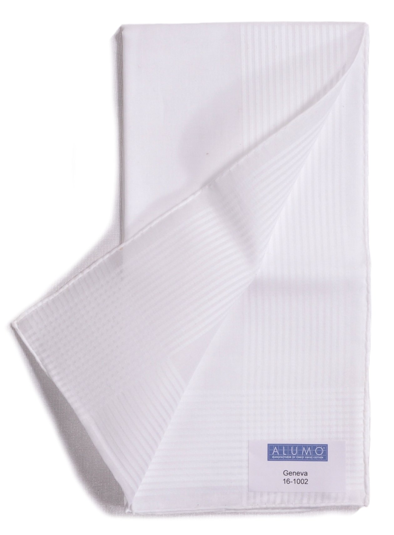 Four ''Geneva'' Hand Rolled Swiss Cotton Handkerchiefs by Alumo