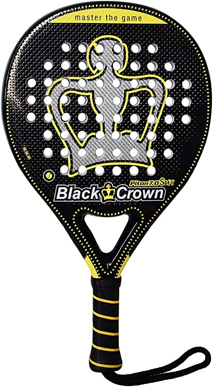 Amazon.com : BLACK CROWN BlackCrown Piton 7.0 Soft - (Padel ...