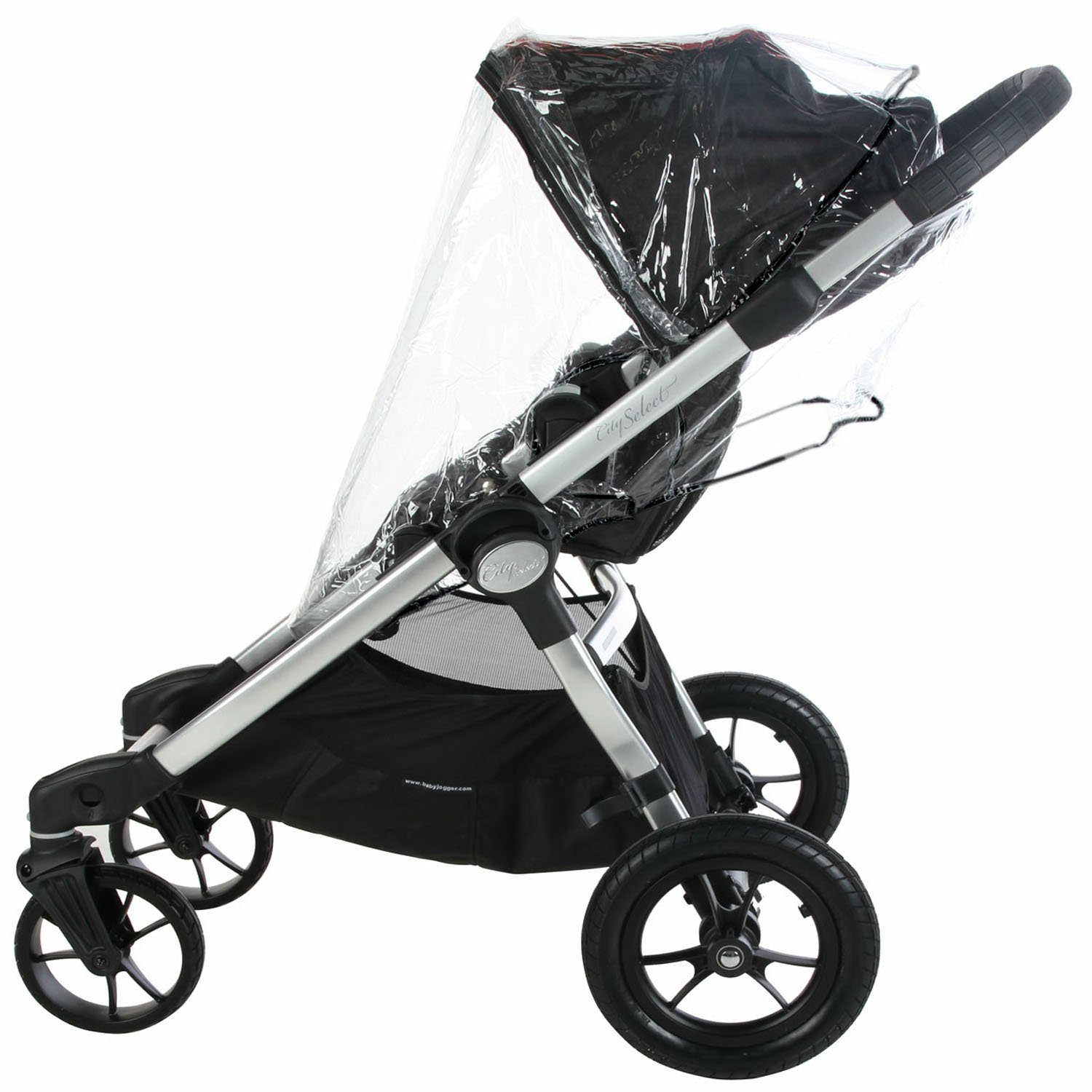 Baby Jogger CITY SELECT & VERSA Stroller & Carrycot (Single) Raincover Weather Shield zipped Rain Cover Baby Travel® City Select Type RC