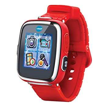 VTech- Reloj multifunción Kidizoom Smart Watch DX, Color Rojo (3480-171627)