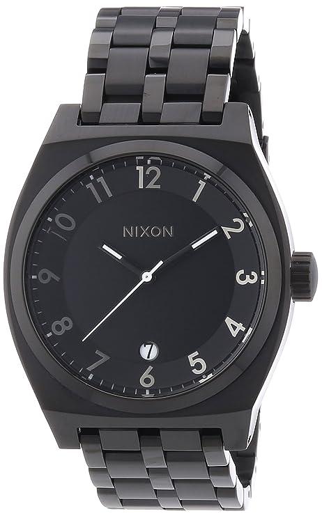 Nixon A325001-00 - Reloj analógico de cuarzo para mujer con correa de acero inoxidable