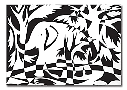 Melissa doug scratch art contrast o sheets white vinyl and black polyester