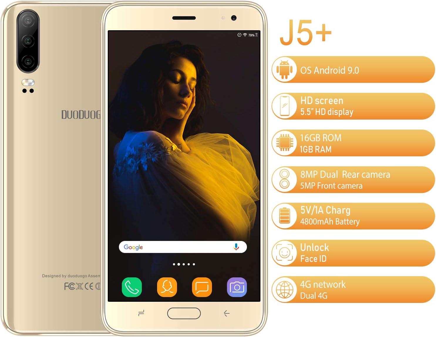 Moviles Libres Baratos 4G,Teléfono Móvil Barato de 5.5 Pulgadas ...