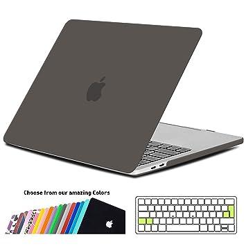 iNeseon Funda MacBook Pro 13 2018/2017/2016, Carcasa Case Duro y Cubierta del Teclado Transparente EU Layout para MacBook Pro 13.3 Pulgadas con/sin ...