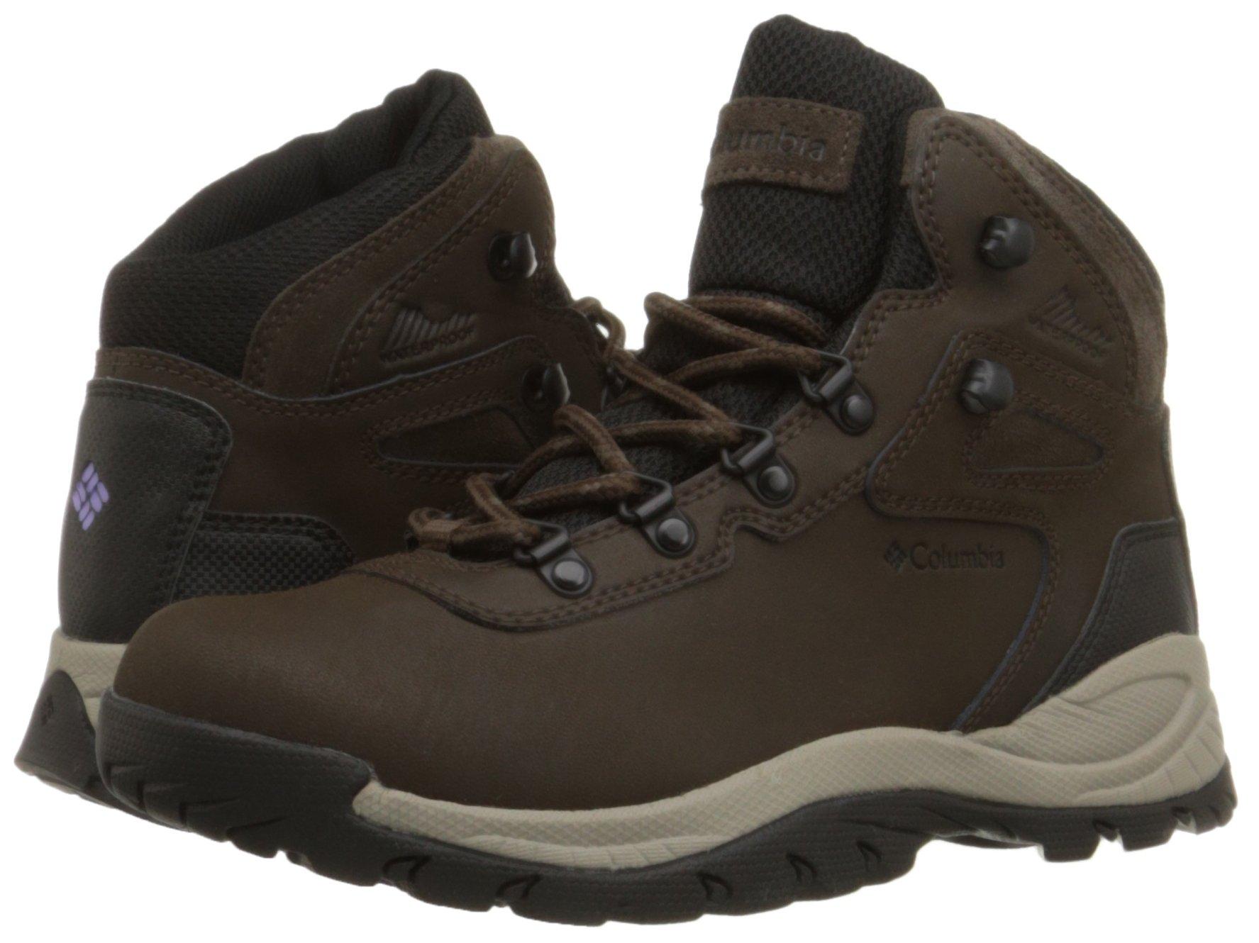 Columbia Women's Newton Ridge Plus Hiking Boot, Cordovan/Crown Jewel, 6 Regular US by Columbia (Image #6)