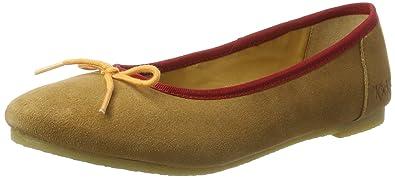 cfe6d28e85c704 Kickers Baie, Ballerines Bout fermé Femme: Amazon.fr: Chaussures et Sacs