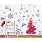 Amazon Price History for:Joiedomi 80 Pcs Glitter Snowflakes Window Wall Peel & Stick Decals Holiday Winter Christmas Home Decorations Snow White Stickers (Also including Jingle Bell, Gift Box , Ornaments Designs)