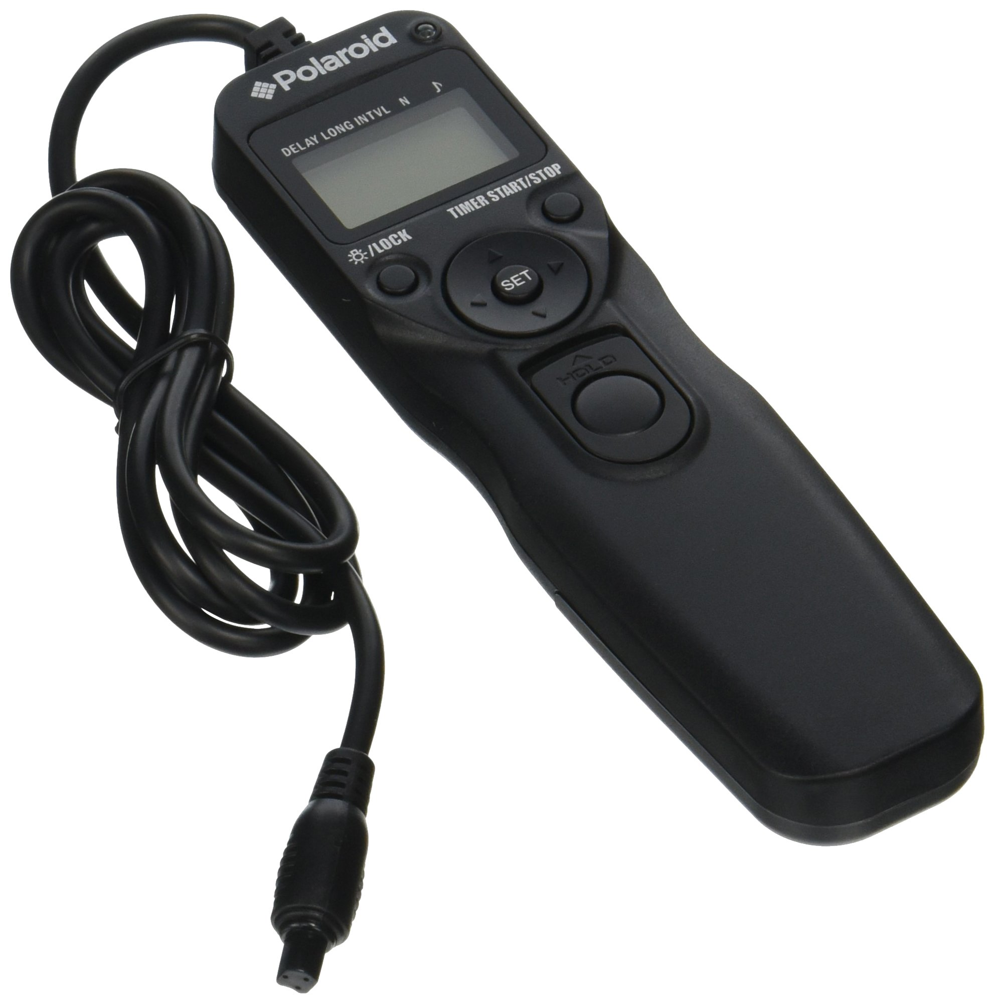 Polaroid PLRTC18 Replacement Shutter Release Timer Remote Control for Select Canon Digital SLR Cameras