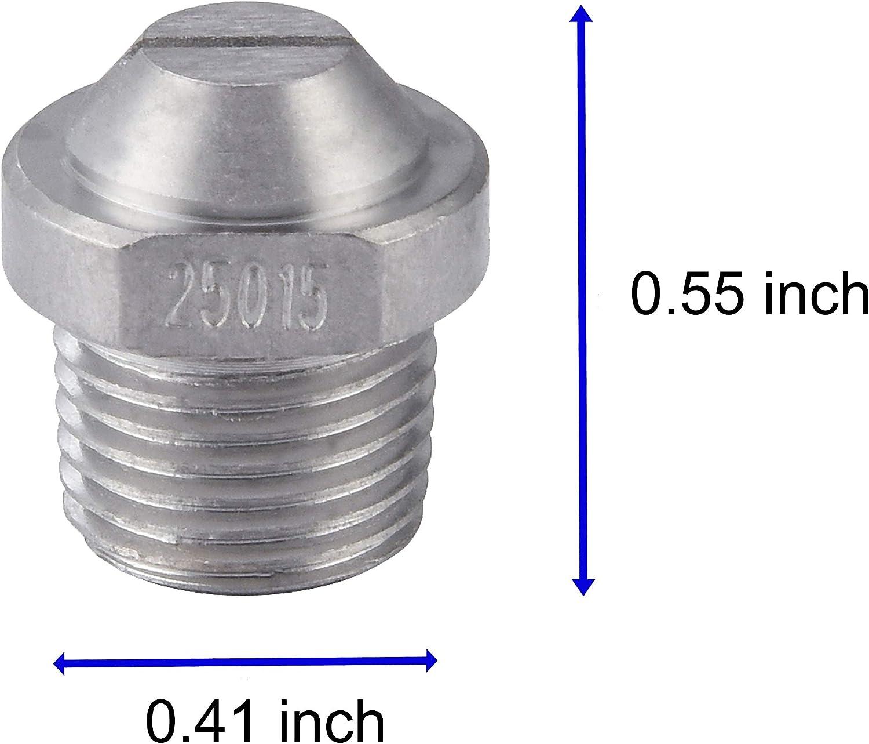 gleichmäßiges 8/'/'Hochdruckreiniger Sprühdüse  25 Grad NPT1