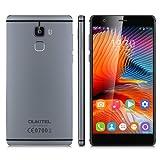 OUKITEL U13 5.5 Inch IPS HD Screen 4G Smartphone Unlocked Android 6.0 MT6753 Octa Core 3G RAM+64G ROM Dual Camera Dual SIM Mobile Phone Fingerprint Multi-Touch Gesture Motion Cellphone(Grey)