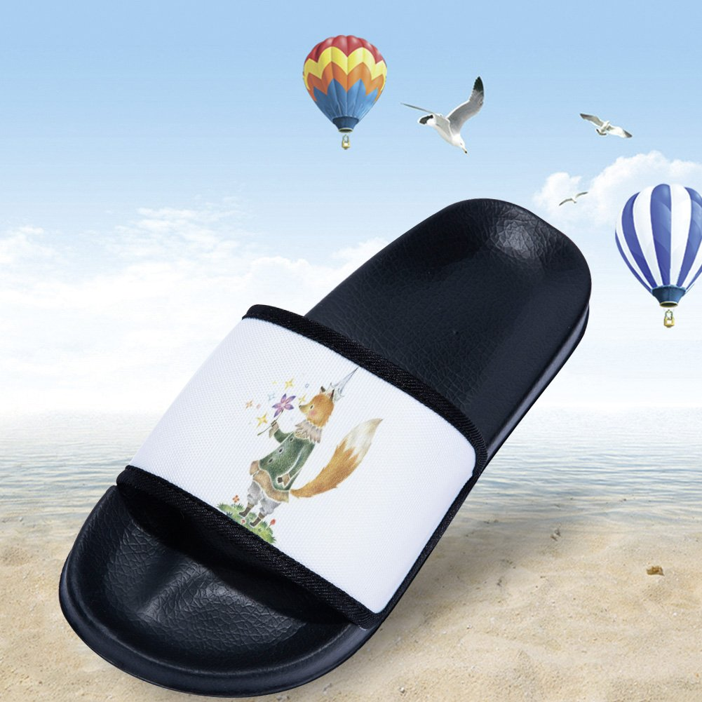 Ron Kite Boys Girls Sandal Bath Shower Pool Swimming Slide Sandal Slippers Little Kid//Big Kid