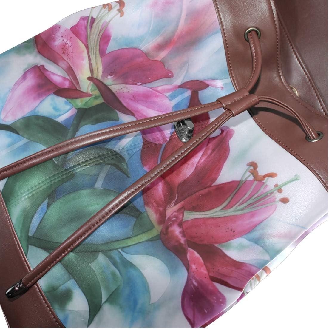 Shopping Bag Storage Bag For Men Women Girls Boys Personalized Pattern Watercolor Painting Backpack School Bag Travel Bag