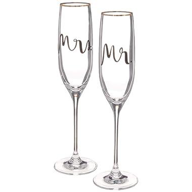 Kate Spade New York 880361 Bridal Party Flute Pair