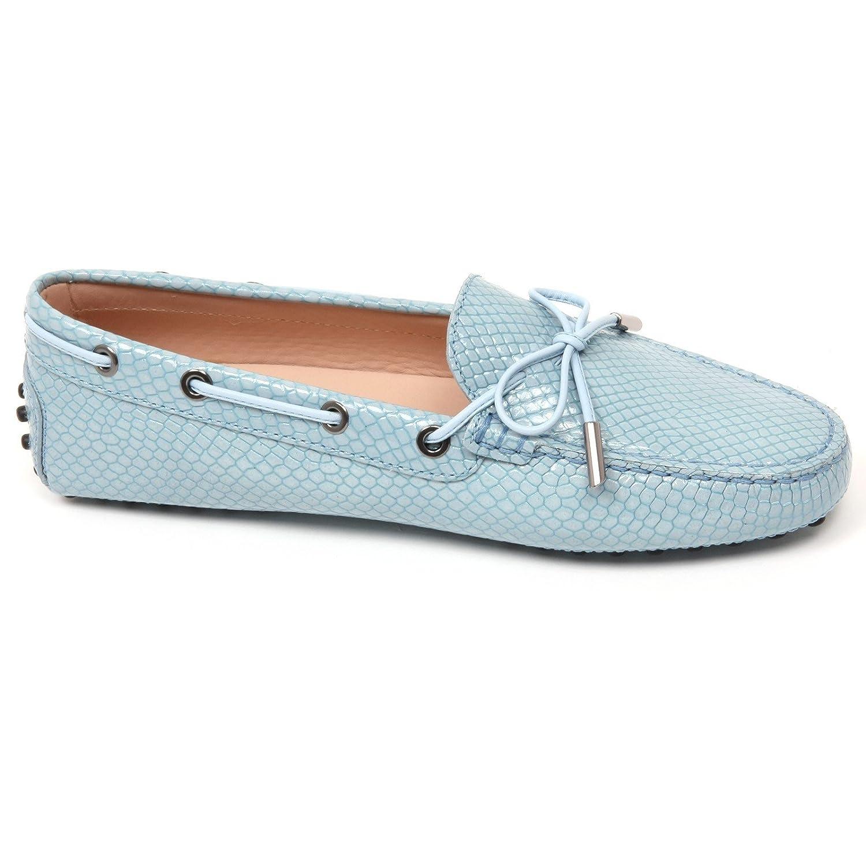 Tod's C9070 Mocassino Damenschuhe Loafer Heaven Scarpa Azzurro Chiaro Loafer Damenschuhe Schuhe Woman 4df21e
