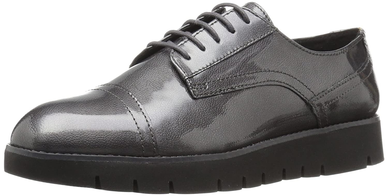 Geox D Blenda D, Zapatos de Vestir Para Mujer 41 EU|Grau (Dk Greyc9002)