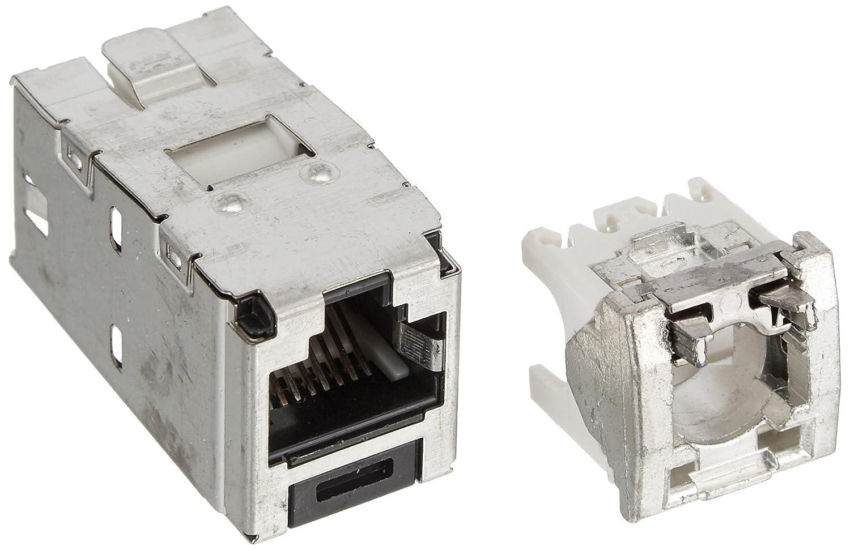 Panduit MINI-JACK Buchse Kat5E CJS5E88TGY geschirmt Modularer ...