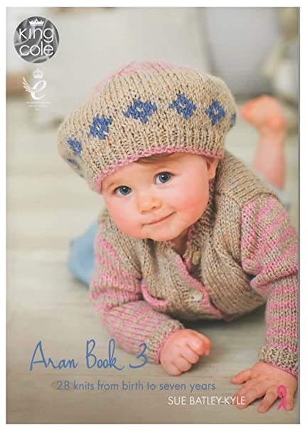 4c193e2139b0 King Cole Aran Book 3 by Sue Batley-Kyle - 28 Knitting Designs ...