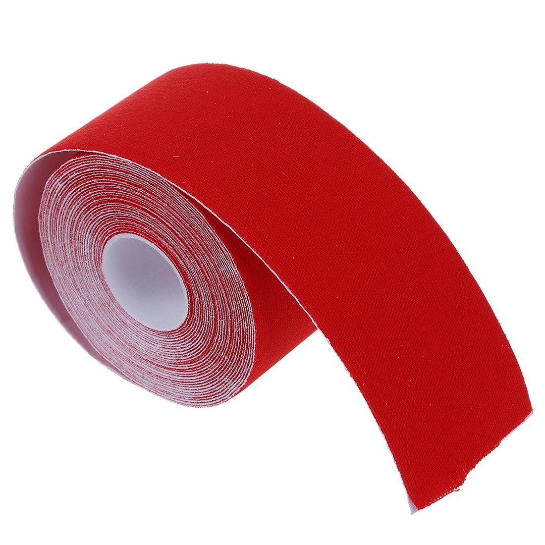 5CM RETYLY 1 Muscles au Tableau dkinesiologie Soins de Remise en Forme Sante Ruban athletique 5M Rouge