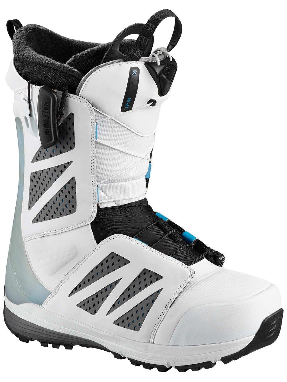 Salomon スノーボード ハイファイホワイトスノーボードブーツ メンズ ホワイト